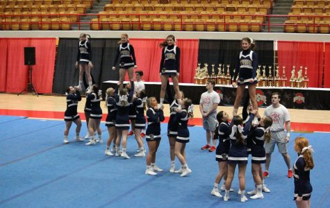 Both Competition Cheer Teams Placed High at Ashland University Competition